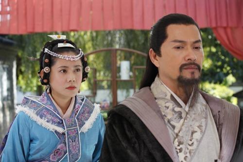 Muqing and A leqiu in Mufu Mansion Lijiang
